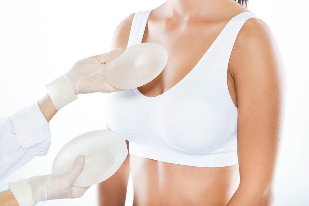 Sylikon i brystene
